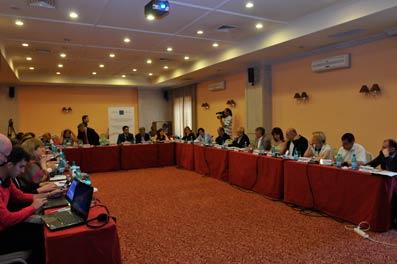 Chişinau, 10 iunie 2011. Constituirea Reţelei regionale a consiliilor de presă